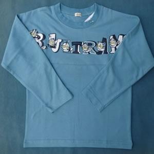 長袖Tシャツ(ロゴ遊び,フェイク)