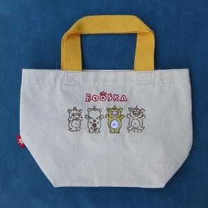 刺繍ミニトートバッグ(快獣ブースカ)