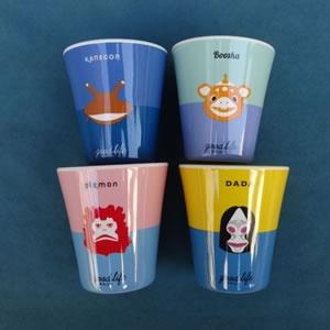 メラミンカップ(GOOD LIFE KAIJYU)