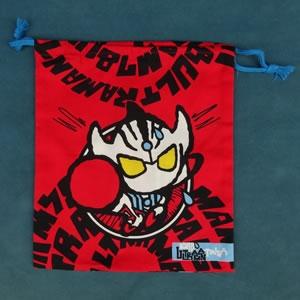 M78ヒーロー巾着L(タイガ)