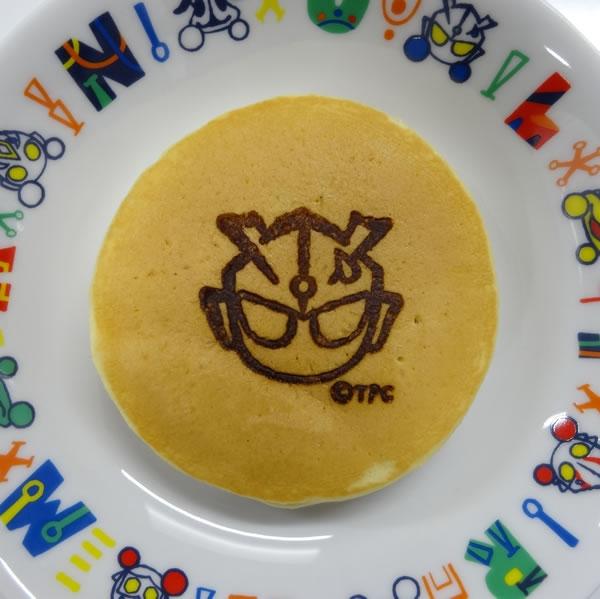 ホットケーキにウルトラマンゼロが登場!